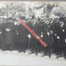 Fotografía antigua: SAN FERNANDO, CADIZ, 1921, PROCESION DE LA VIRGEN DEL CARMEN, ESPECTACULAR, 168X114MM. Lote 112599063