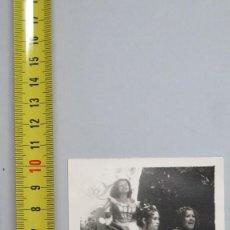Fotografía antigua: FOTOGRAFIA DESFILE CARNAVAL. CIUDAD REAL. Lote 112619647