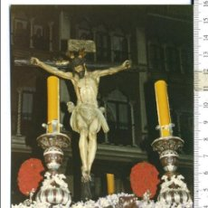 Fotografía antigua: FOTOGRAFÍA STMO. CRISTO DEL CALVARIO SEMANA SANTA DE SEVILLA. Lote 112682867