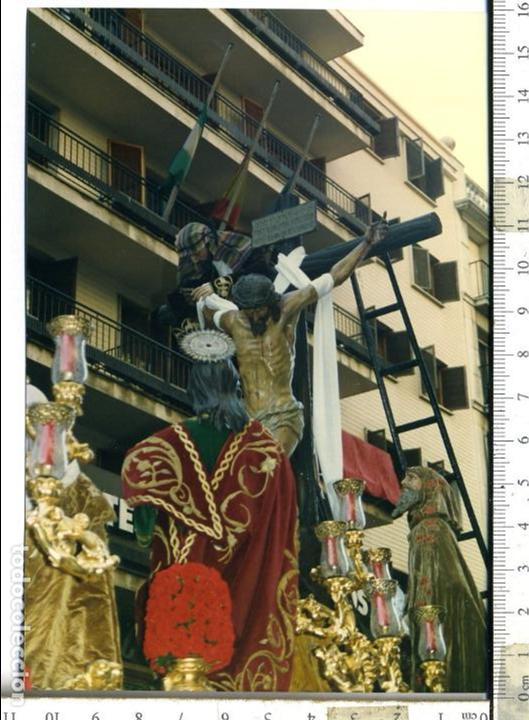 FOTOGRAFÍA STMO. CRISTO DE LAS CINCO LLAGAS , SEMANA SANTA DE SEVILLA (Fotografía Antigua - Fotomecánica)