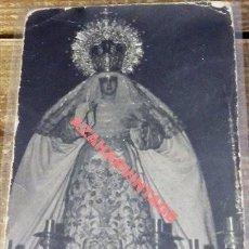 Fotografía antigua: SEMANA SANTA SEVILLA, ANTIGUA FOTOGRAFIA NTRA.SRA.DE LAS MERCEDES, SANTA GENOVEVA,14X9 CMS. Lote 112699311