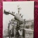 Fotografía antigua: ANTIGUA FOTOGRAFÍA.FALLA CONVENTO JERUSALEN.AÑO 1963.FOTO FALLAS DE VALENCIA.. Lote 112794083
