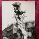Fotografía antigua: ANTIGUA FOTOGRAFÍA.FALLA CONVENTO JERUSALÉN.AÑO 1962.FOTO FALLAS DE VALENCIA.. Lote 112797035
