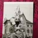 Fotografía antigua: ANTIGUA FOTOGRAFÍA.FALLA PLAZA DEL MERCADO.AÑO 1964.FOTO FALLAS DE VALENCIA.. Lote 112801951