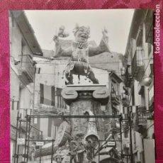 Fotografía antigua: ANTIGUA FOTOGRAFÍA.FALLA NA JORDANA.AÑO 1967.FOTO FALLAS DE VALENCIA.. Lote 112833743