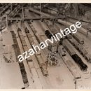 Fotografía antigua: ANTIGUA FOTOGRAFIA, MAQUETA DE FERROCARRILES, 178X128MM. Lote 112977355