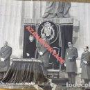Fotografía antigua: EL VALLE DE LOS CAIDOS, 1976, LOS REYES PRESIDIENDO EL FUNERAL POR FRANCO, 178X128MM. Lote 113224427