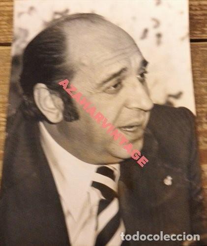 ANTIGUA FOTOGRAFIA DEL ACTOR JUANITO NAVARRO, 128X178MM (Fotografía Antigua - Fotomecánica)