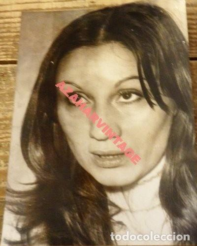 ANTIGUA FOTOGRAFIA DE LA ACTRIZ ANA DIOSDADO,128X178MM (Fotografía Antigua - Fotomecánica)