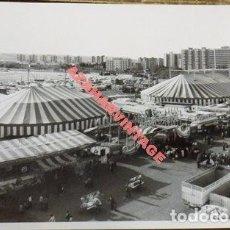 Fotografía antigua: SEVILLA, ANTIGUA FOTOGRAFIA, VISTA AEREA CIRCO PRICE, 178X128MM. Lote 113837179