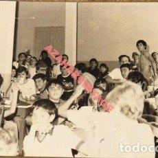 Fotografía antigua: ANTIGUA FOTOGRAFIA DE LA COLONIA MUNICIPAL INFANTIL DE JABUGO, HUELVA, 140X90MM. Lote 113843019