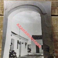 Alte Fotografie - ANTIGUA FOTOGRAFIA, VISTA DE VIVIENDAS EN LA RINCONADA, 128X178MM - 113850479