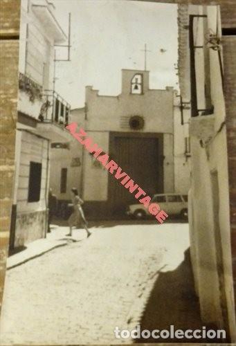 ANTIGUA FOTOGRAFIA, VISTA CAPILLA EN LA RINCONADA, 88X148MM (Fotografía Antigua - Fotomecánica)