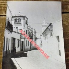 Old photograph - ANTIGUA FOTOGRAFIA, VISTA CASCO ANTIGUO VILLANUEVA DEL ARISCAL, 128X178MM - 113850747