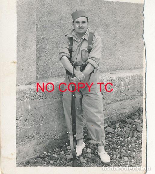 FOTOGRAFÍA CARTAGENA MURCIA SOLDADOS MILITAR MILITARES MARINA (Fotografía Antigua - Fotomecánica)