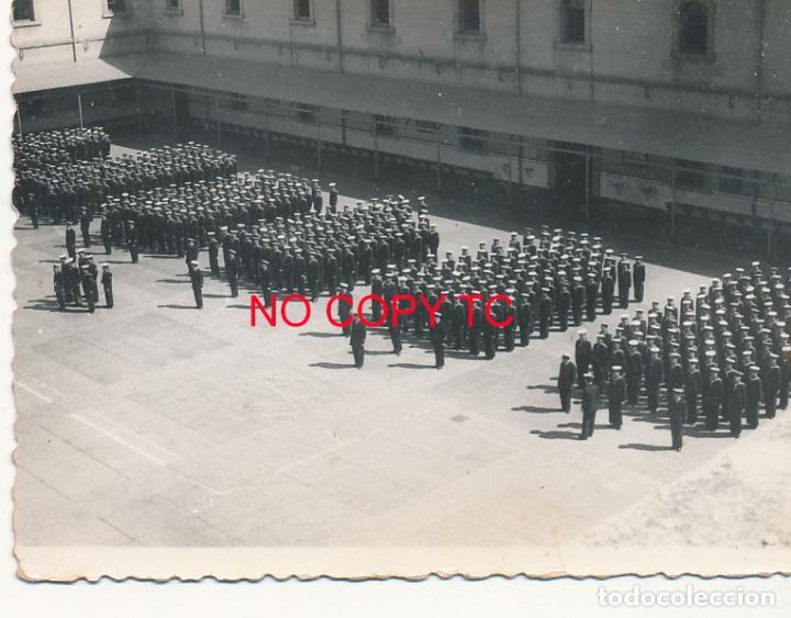 AR FOTOGRAFÍA CARTAGENA MURCIA SOLDADOS MILITARES MANIOBRAS DESFILE (Fotografía Antigua - Fotomecánica)