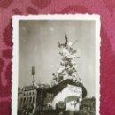 Fotografía antigua: ANTIGUA FOTOGRAFÍA. FALLA PLAZA DEL AYUNTAMIENTO. AÑO 1952. FALLAS DE VALENCIA. FOTO.. Lote 114225079