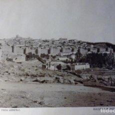 Fotografía antigua: AVILA, VISTA GENERAL, HAUSER Y MENET, 1895, 40X30 CMS CON MARCO. Lote 114337651