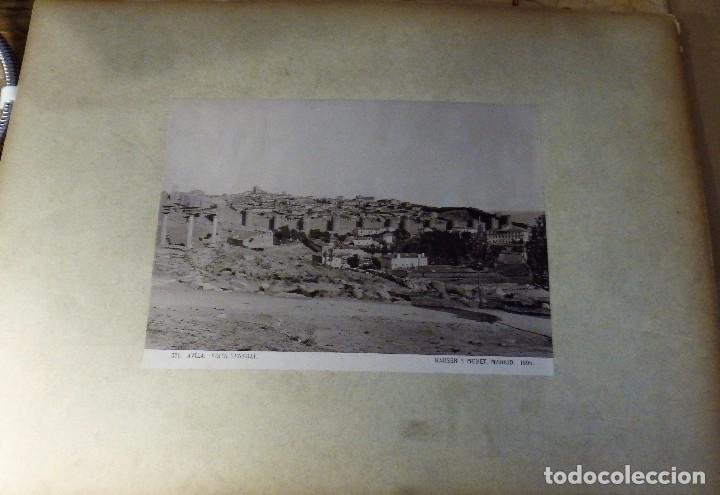 Fotografía antigua: AVILA, VISTA GENERAL, HAUSER Y MENET, 1895, 40X30 CMS CON MARCO - Foto 2 - 114337651