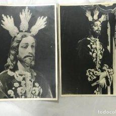 Fotografía antigua: 2 FOTO DE NTRO. P. JESÚS DE LA SENTENCIA, S. NICOLAS DE LA VILLA, CÓRDOBA, DEDICADA HNO. MAYOR, 1973. Lote 114393271