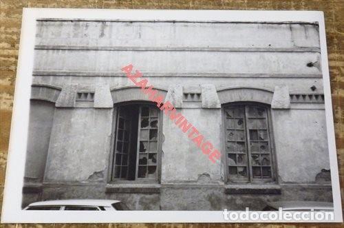 ANTIGUA FOTOGRAFIA,CALLEJONES DEL PERCHEL, MALAGA, 125X90MM (Fotografía Antigua - Fotomecánica)