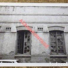 Fotografía antigua: ANTIGUA FOTOGRAFIA,CALLEJONES DEL PERCHEL, MALAGA, 125X90MM. Lote 114463911