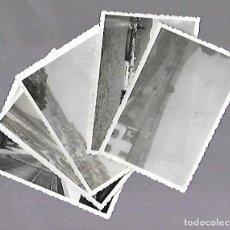 Fotografía antigua - LOTE DE 5 FOTOGRAFIAS. RIA DE AROSA. VILLAGARCIA DE AROSA. VER FOTOS. 9 X 6CM - 114771611