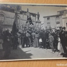 Fotografía antigua: ANTIGUA FOTOGRAFIA SEMANA SANTA CUEVAS DE ALMANZORA ALMERIA. Lote 114859119