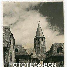 Fotografía antigua: FOTO ORIGINAL SALARDU VALL D'ARAN PROVINCIA LLEIDA AÑOS 40/50. Lote 114916639