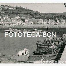 Fotografía antigua - FOTO ORIGINAL MUROS PROVINCIA CORUÑA PUERTO BARCAS PESCADORES AÑOS 60 - 114989703