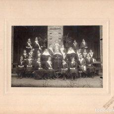 Fotografía antigua: FOTOGRAFÍA COLEGIO DE MONJAS - FOTO CERVERA VALLADOLID - MAYO 1917 - MEDIDAS SOLO FOTO 17X11,5CM. Lote 115183127