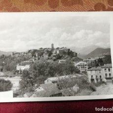 Fotografía antigua: ANTIGUA FOTOGRAFIA. PUEBLO DE AINSA. VISTA. HUESCA-ARAGON. FOTO AÑOS 60.. Lote 115532295