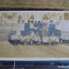 Fotografía antigua: FOTO FOTOGRAFIA DE EQUIPO DE FUTBOL A IDENTIFICAR. Lote 115577871