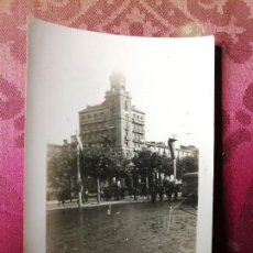 Fotografía antigua: ANTIGUA FOTOGRAFÍA. ZARAGOZA. PLAZA DE LA INDEPENDENCIA. AÑO 1942. FOTO. Lote 115742435
