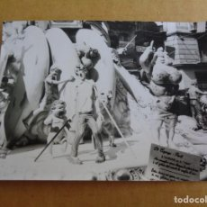 Fotografía antigua: FOTO DETALLE FALLA - 1970 - FALLAS DE VALENCIA - FOTOGRAFIA ORIGINAL. Lote 116842039