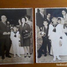 Fotografía antigua: FOTOS ANTIGUA DE COMUNIÓN. Lote 116946523