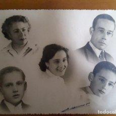 Fotografía antigua: FOTO ANTIGUA FAMILIAR . Lote 116946615