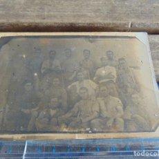 Fotografía antigua: FOTO FOTOGRAFIA TARJETA POSTAL MILITAR MILITARES TORRETA DEL GAN DESTINO EL ARAHAL. Lote 116992195