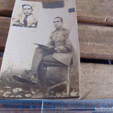 Fotografía antigua: FOTO FOTOGRAFIA TARJETA POSTAL MILITAR MILITARES TORRETA DEL GAN DESTINO EL ARAHAL. Lote 116992367