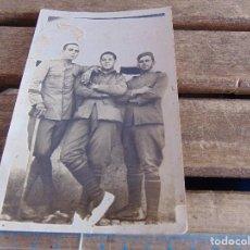Fotografía antigua: FOTO FOTOGRAFIA TARJETA POSTAL MILITAR MILITARES TORRETA DEL GAN DESTINO EL ARAHAL. Lote 116992451