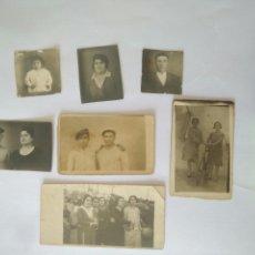 Fotografía antigua: 7 FOTOGRAFIA FAMILIAR AÑOS 1917 AL 1922.FOTO SEVILLA AÑOS 20. Lote 117008686