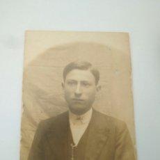 Fotografía antigua: FOTOGRAFIA HOMBRE SEVILLANO AÑOS 20 ,RECORTADA. Lote 117009119