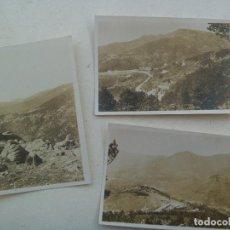 Fotografía antigua: LOTE DE 3 FOTOS DE PAISAJE . PRINCIPIOS DE SIGLO . GALICIA ( ? ). Lote 117235955