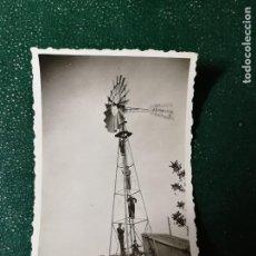 Fotografía antigua: ANTIGUA FOTOGRAFÍA. AEROMOTOR. FOTO AÑOS 50.. Lote 117533091