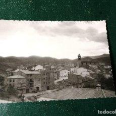Fotografía antigua: FOTOGRAFÍA PUEBLO DE TÓRAS. PROVINCIA DE CASTELLÓN. FOTO. Lote 117542695