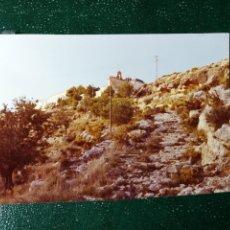 Fotografía antigua: FOTOGRAFÍA. ERMITA DE SAN MIGUEL. PUEBLO DE LIRIA. PROVINCIA DE VALENCIA. FOTO AÑO 1971.. Lote 117544895
