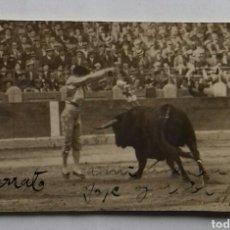 Fotografía antigua: MARIANO CARRATO BAQUEDANO, 1926.. Lote 117629819