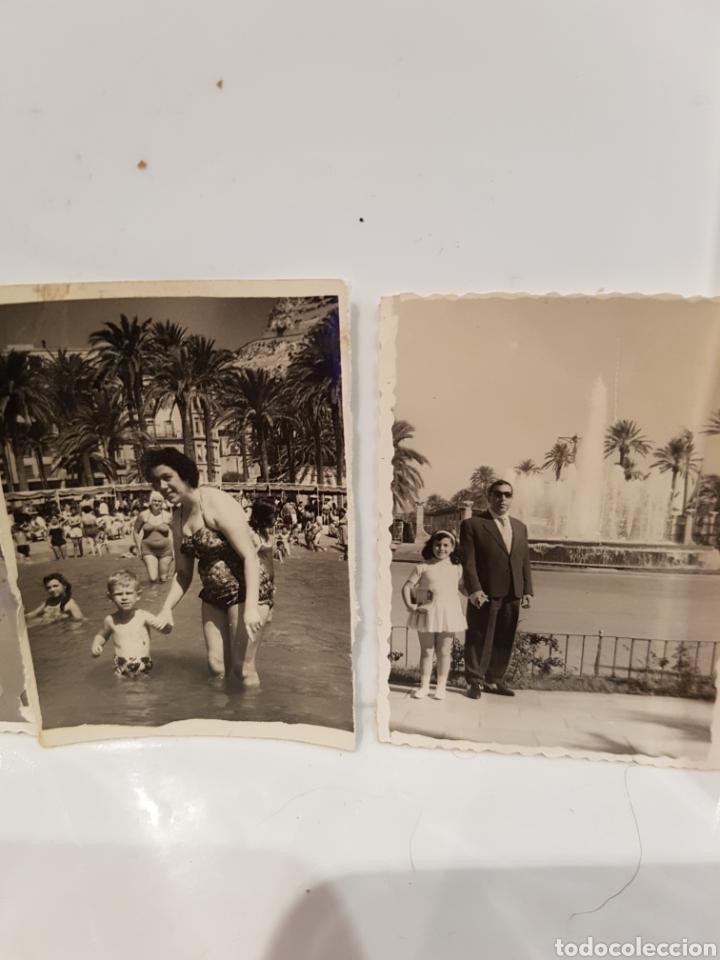 Fotografía antigua: LOTE DE 4 FOTOGRAFIAS DE ALICANTE - Foto 3 - 117865542