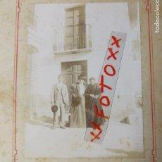 Fotografía antigua: ANTIGUA FOTOGRAFÍA. PUEBLO DE BURRIANA. CASTELLÓN. FOTO.. Lote 118115011