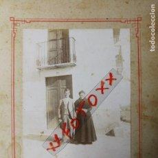 Fotografía antigua: ANTIGUA FOTOGRAFÍA. PUEBLO DE BURRIANA. CASTELLÓN. FOTO.. Lote 118115043